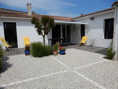 Photo for Nice house with two bedrooms near the sea and shops