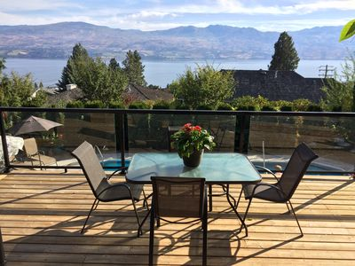 Photo for SPECTACULAR LAKE AND VINEYARD VIEWS