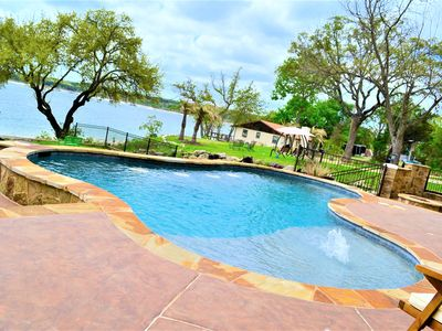 """Photo for LAKE TRAVIS WATERVIEW """"RESORT-STYLE HOME WITH POOL & SAUNA"""""""