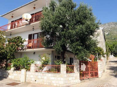 Photo for Three bedroom apartment with terrace and sea view Podaca, Makarska (A-315-a)