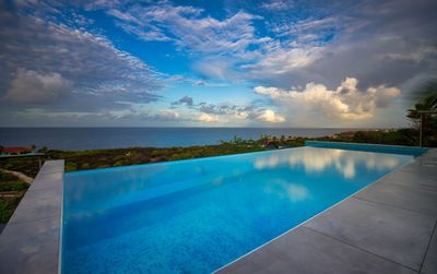 Beautiful new Villa with oceanview and infinity swimming pool on Coral  Estate - St. Marie