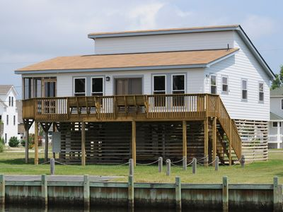 Photo for Canal Front with Boat Dock & Community pool access - 215