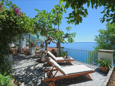 Photo for Beautiful Casa Angels in Positano with 2 bedrooms, shared pool, sempiprivate beach