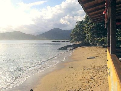 Photo for House in Ubatuba for 11 People Piçinguaba Beach, (60 METROS DO MAR)