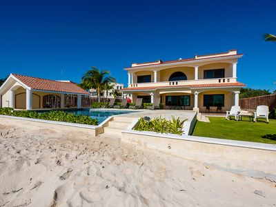 Photo for New Listing Discount,Luxury Oceanfront Villa,Infinity Pool,Transportation Incl!