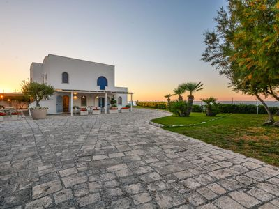 Photo for Beautiful private villa with WIFI, TV, patio, panoramic view and parking, close to Polignano a M...