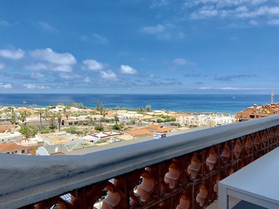 Photo for Palm-Mar, apartment with Ocean View
