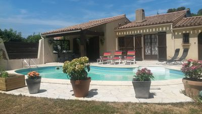 Photo for Secluded Villa With Private Pool & Huge Garden, Minutes From Carcassonne