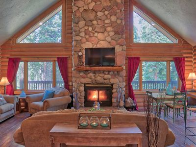Photo for Blue River Log Cabin - Comfort Close to Breck