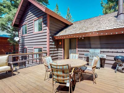 Photo for NEW LISTING! Spacious cabin with shared pools, hot tubs, near skiing and golf!