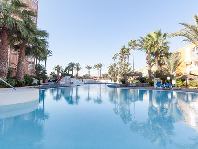 Photo for The Chirimoyas 17 apartment is very close to beach with swimming pool