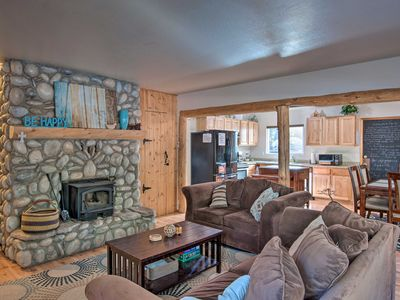 Photo for NEW! Rustic Mountain Charm Near Heavenly & Tahoe!
