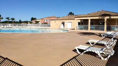 Photo for Suburban residence with 3 communal pools in Bezizes - 2 Room House 4 persons