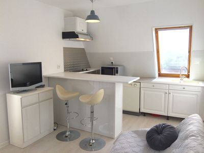 Photo for Nice two rooms in Cabourg-plage. Between thalassotherapy and golf, Héloise stays