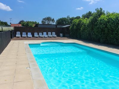Photo for Family friendly 5 bedroom Gite with Private Heated Pool Set In 1 Acre