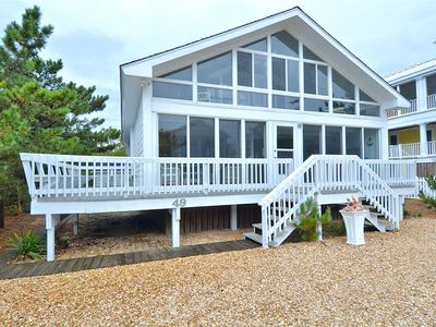 Photo for FREE ACTIVITIES!!! This amazing 5  bedroom, 3 bath vacation beach home if just one lot off the oceanfront and has undergone a compete update with absolutely nothing overlooked!! Located in the sought after private Middlesex Beach community
