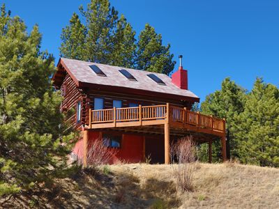 Photo for Red Log Cabin Mountain Retreat