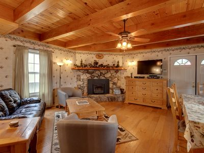 Photo for Spacious Mountain Home - Perfect for Vacationing Families! - 5 Min Away From Fun