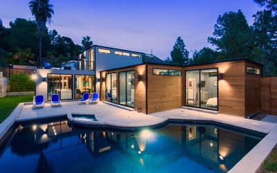 Photo for Luxury Modern Hollywood Hills Estate - Private Heated Pool/Spa - Great Location