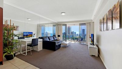 Photo for 2 BDR OCEAN VIEW - CHEVRON TOWER * Beach Central Location*