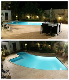 Fully AC, Modern, Detached Property, garden, large PRIVATE Pool, deck, BBQ, etc.