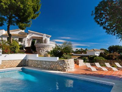 Photo for Beautiful private villa for 6 guests with private pool, A/C, TV and parking