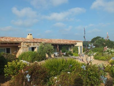 Photo for LUXURY VILLA WITH POOL AND SEA VIEW Sant'Amanza Gulf