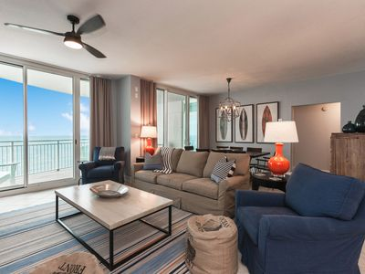 Photo for AQUA 1002 LUXURY CONDO - NEWLY REMODELED! BEACH CHAIRS!  CERTIFIED CLEANING!