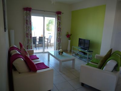 Photo for Spacious 2 Bedroom Apartment With Sea Views And Fully Air-conditioned