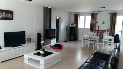 Photo for The house benefits from a large garden, swimming pool it is located 35 KM from PARIS