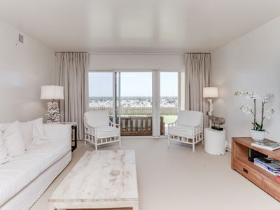 Photo for Chic and Relaxing Beachfront Condo with Gulf Views