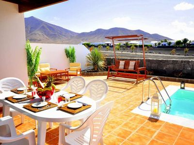 Photo for House in the center of Playa Blanca with Internet, Pool, Garden, Balcony (970260)