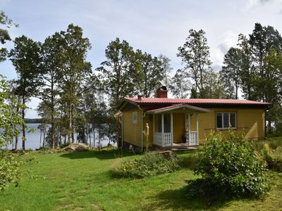 Photo for Paradise home by a lake, for anglers, canoeists, hikers and cyclists