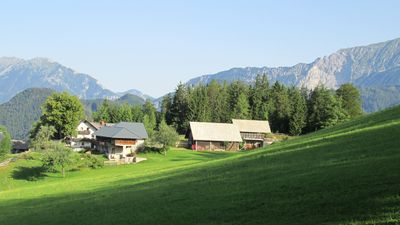Photo for Apartment 5 - Mountain farm 1050m. Nature, tranquility, fresh air! 25 km from Bled