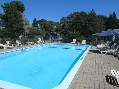 Photo for Community pool. Walk to beach ! AC and WiFi- Welcome to Surf's Up