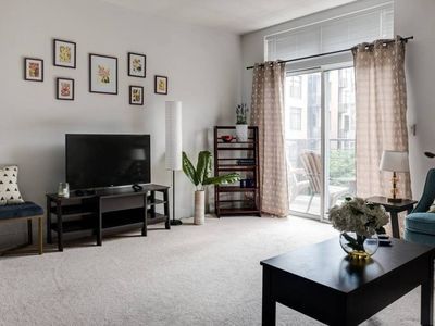 Photo for Bright 1BR w/ Patio | Foodie Paradise | Parking