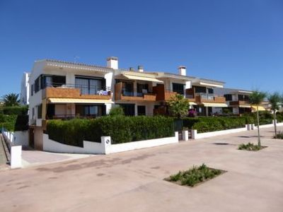 Photo for Cozy and bright apartment in 1st line of the sea situated in Sant Carles (Llançà), a pla