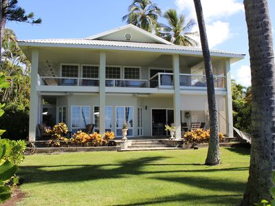 Photo for Luxurious Ocean Front 4BR 3BA Home. Very upscale and very private. Reserve early