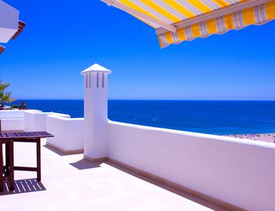 Photo for Apartment in Albufeira with fantastic views of the sea, the beach and the city