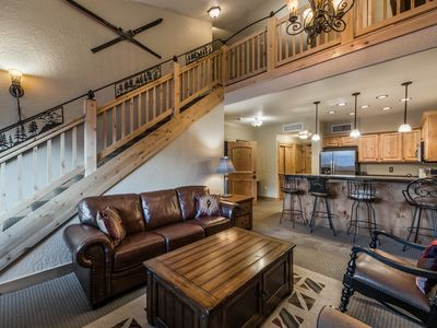 Photo for Cozy Condo with Loft/Kitchen @ the Canyons Sleeps 6