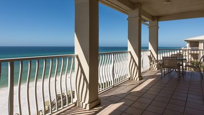 Large Balcony with Spectacular View