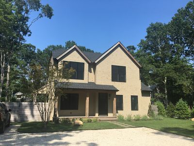Photo for Newly built East Hampton home near beaches and bay