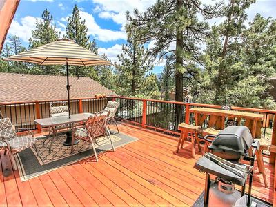 Photo for House 284 m from the center of Big Bear with Parking, Internet, Balcony (1008658)