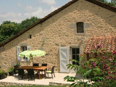 Photo for Characteristic house with private Jacuzzi in the south of the Auvergne