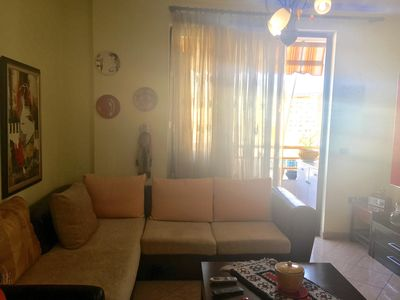 Photo for Beautiful and centrally located apartment - great view of the Dajti mountain