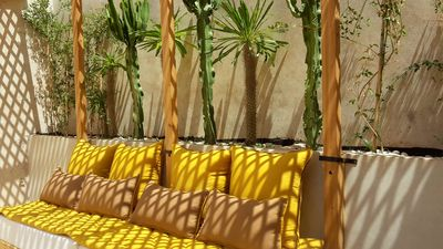 Photo for Chic riad private roof top wifi, garden patio