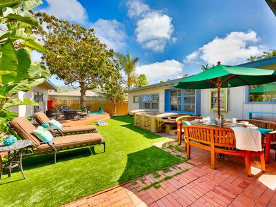 Photo for 25% OFF AUG+SEP - Cute, Recently Updated Beach House with Hot Tub