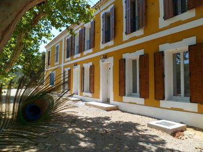 Photo for Provencal farmhouse renovated exceptional setting,