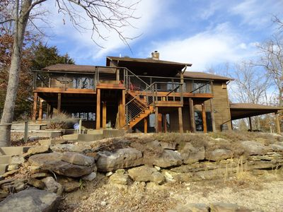 Photo for Eagle Point - Secluded LAKEFRONT/LAKEVIEW HOME with easy lake access!