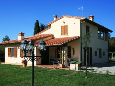 Photo for modern villa with private pool and large garden, high comfort